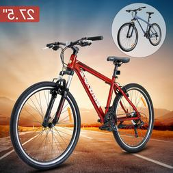"27.5"" Men's Mountain Bike Shimano Hybrid 21 Speed Bicycle Su"
