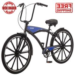 Schwinn 27.5 Mens Kokomo Classic Cruiser Bike Chopper Handle