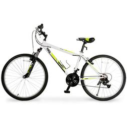 "26"" Mountain Bike 21 Speeds Disc Brakes Front Suspension Bic"