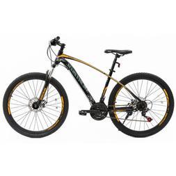 """27.5"""" Steel Frame Mountain Bike 21 Speeds Front Suspension B"""