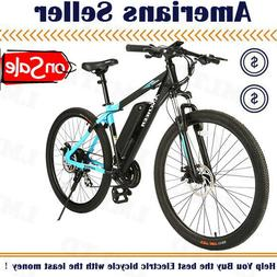 27in 350W E-Mountain Bike Electric City Bicycle with 10.4AH