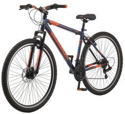 "Mongoose 29"" Exhibit Men's Mountain Bike, Blue Cycling Exerc"