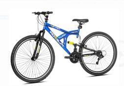 "Kent 29"" Flexor Men's Dual Suspension Mountain Bike, Blue -"