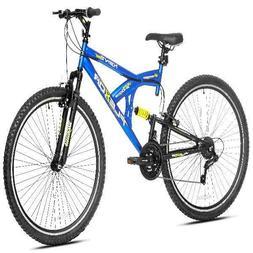 "Kent 29"" Flexor Mens Dual Suspension Mountain Bike Blue *IN"