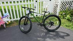 "29"" Men's Schwinn Boundary Mountain Bike, Black/Green"