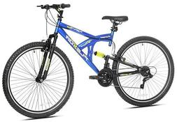 "KENT 29"" MEN'S FLEXOR BIKE WITH DUAL SUSPENSION,BLUE"