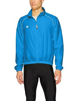 Canari Men's 3 Season Cycle Shell, Breakaway Blue, Large