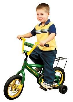 John Deere 34938 Jd Bike With Training Wheels - 12 In.