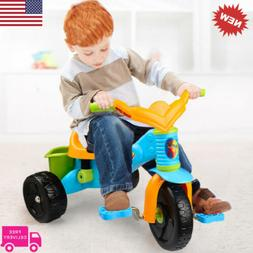 3-Wheel Ride On Tricycle Bike Kids Trike Toy Children Toddle