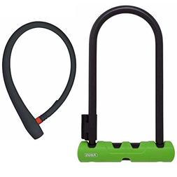 ABUS 410 Ultra Bicycle U-Lock  and Lightweight 65cm uGrip Ca