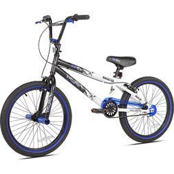 Kent 42062 20 inch Kent Ambush BMX Bike for Boys - Blue, Whi