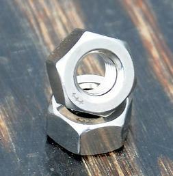 "5/16"" 24tpi Standard Stainless Steel AXLE NUTS Bike Hubs Vin"