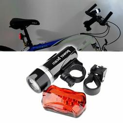 Insten 5 LED Bike Bicycle Cycling Front Head Light Flashligh