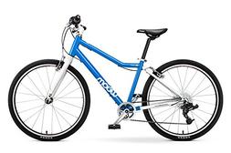 """woom 5 Pedal Bike 24"""", 8-Speed, Ages 7 to 11 Years, Blue"""