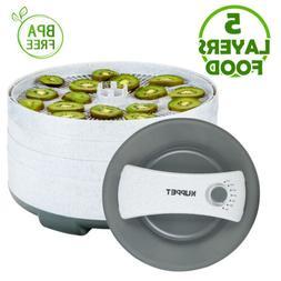5 Tray Electric Food Dehydrator Dryer Machine 360° Swivel 4