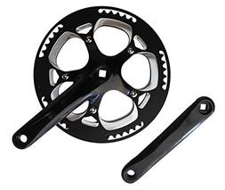 Lasco 56T Forged Crankset with 170mm Forged Arms CNC Aluminu