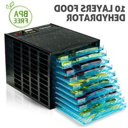 630W 10 Tray Electric Food Dryer Dehydrator Machine Fruit Be