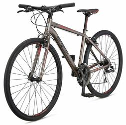 Mongoose 700c Artery Comp Men's Fitness Bike-Silver