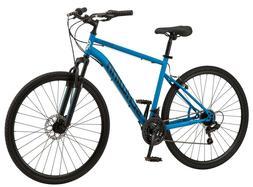 Schwinn 700c Copeland Men's Hybrid Bike Blue In Hand Ready T