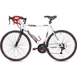 "700c GMC Denali Men's Bike 25"", White-Red"