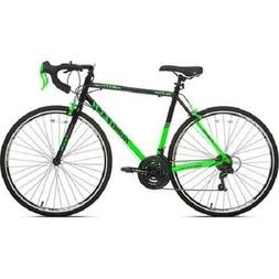 700c Men's Kent RoadTech Road Bike, Green/Black