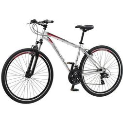 SCHWINN 700C MEN'S CONNECTION MULTI-USE BIKE, SILVER *DISTRE