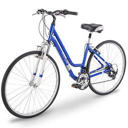 Royce Union 700c RMY Womens 21-Speed Hybrid Comfort Bike, 15