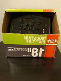 "Bell 7091036 Mountain Bike Tire, 18"" x 1.75-2.125"", Black"