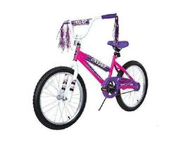 Dynacraft 8109-25Ztj Girls Sapphire Magna Bike, Silver / Pin