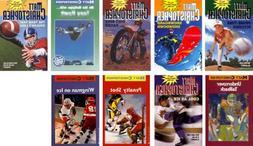 9 Book Set By Matt Christopher; Prime Time Pitcher; Snowboar