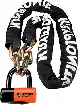 Kryptonite New York Chain 1210 Bicycle Lock with Evolution S