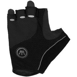 Canari Men's Aspen Cycling Gloves, Large, Black/Grey