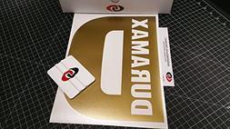 "DURAMAX 9""x12"" Rear Window Decal Kit METALLIC GOLD by Underg"