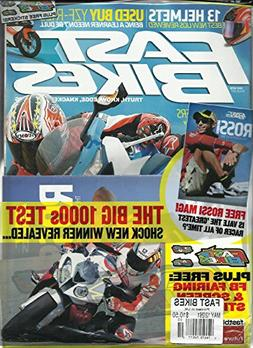 FAST BIKES, MAY, 2013 NO. 261 (THE BIG 1000s TEST SHOCK NEW