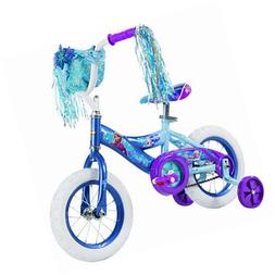 Huffy 12 inch Disney Frozen Girls Bike, Blue/Purple