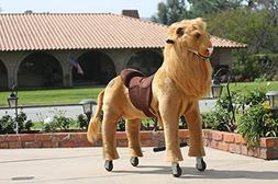 Medallion - My Pony Ride On Real Walking LION for Children 5