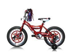Micargi Kid's Cruiser Bike, Red, 16-Inch