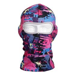 Outdoor Sports Bike Motorcycle Cycling Face Mask Hat Scarf D