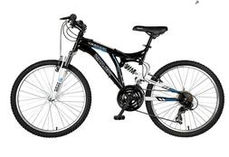 Polaris Ranger Full Suspension Mountain Bike, 24 inch Wheels