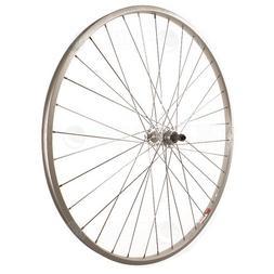 Sta Tru Silver Alloy Freewheel Hub Rear Wheel
