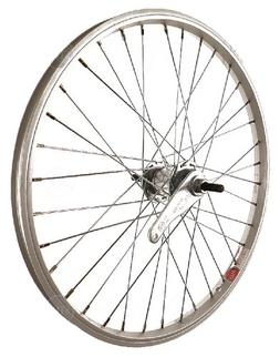 Sta-Tru Silver Steel 1 Speed Coaster Brake Hub Rear Wheel