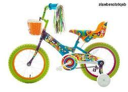 Titan Girl's Flower Power Princess BMX Bike, Multi Color, 16