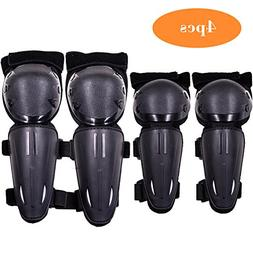 Webetop Kids Knee Pads Elbow Guards 4PC Set