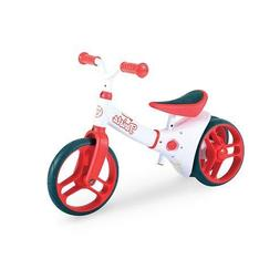 Yvolution Kids Balance Bike Y Velo Twista Red, Adjustable Se