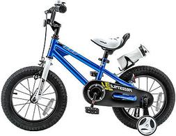 A BMX 16 inch Freestyle Kids Bike, Boys And Girls, With Trai