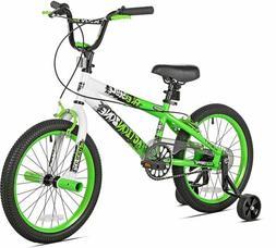 "Kent Boys Action Zone Bike, 18"", Green/Yellow/White"