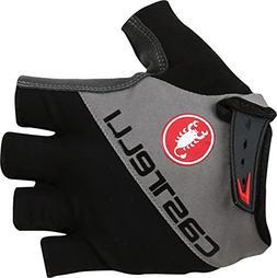 Castelli Adesivo Glove - Men's Black/Anthracite, L