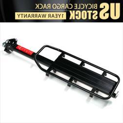 Adjustable Bicycle Rear Frame Mounted Cargo Rack for Disc Bi