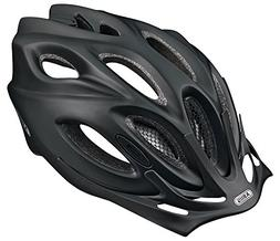ABUS Aduro Mens Cycling Helmet - 58-62 cm, Black