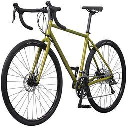 Pure Cycles Adventure Gravel 16-Speed Disc Road Bike, 57cm/X